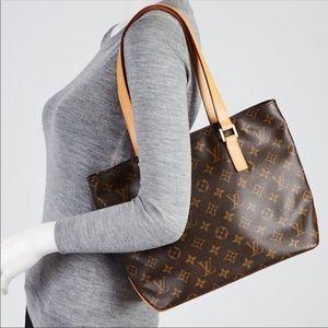 Auth Louis Vuitton Cabas Piano Tote Bag